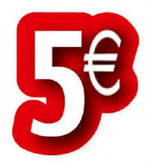 Na vse parfume - 5 eur popusta