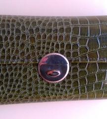Olivno zelena torbica