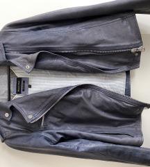 Usnjena jakna Massimo Dutti