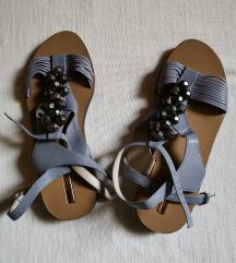 MIEZKO usnjeni sandali