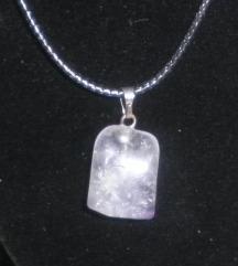 Verižice z naravnimi kristali