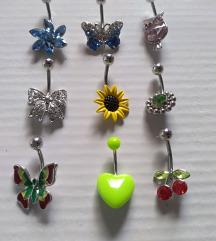 nov piercing za popek