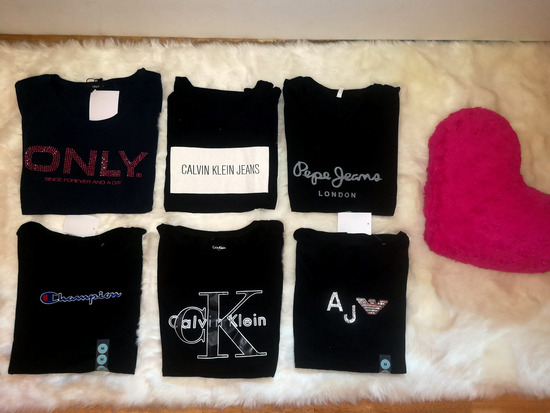 AKCIJA: Majice raznih znamk