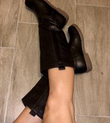 Kocca usnjeni zimski škornji