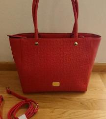 Guess rdeča torbica original