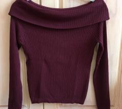 Nov off-shoulder pulover H&M