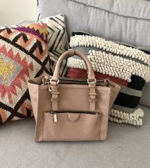 Zara mini city usnjena torba
