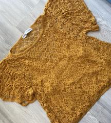 nova cipkasta majica Zara