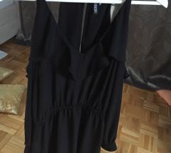 Črna obleka h&m