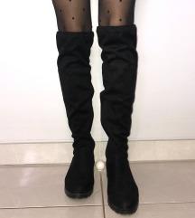 Overknee škornji (črni) 36/37