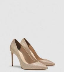Zara gold pumps