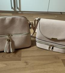 Nezno roza torbice
