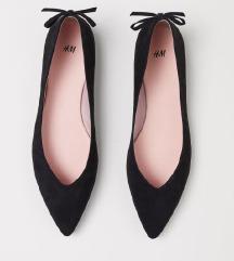 črne balerinke h&m
