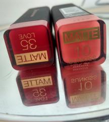 Novi šminki Max Factor velvet mattes