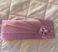 Roza elegantna torbica