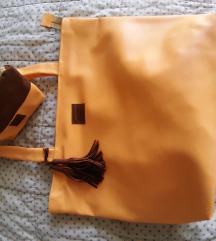 Velika torba s toaletko torbico