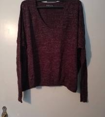 V neck pulover