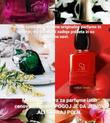 Naprodaj parfumi iz moje zbirke