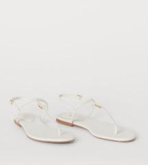 H&M beli sandali, NOVI, mpc 20€