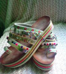 MASS platforma sandali,enkrat nošeni,39