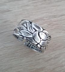 Srebrni tibetanski prstan