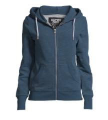 Superdry hoodie z zadrgo-NOV