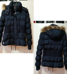 ANREXX modna bunda s kapuco z mucko