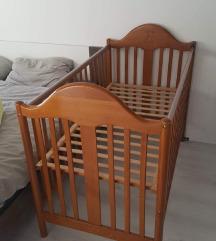 Otroška posteljica 60x120