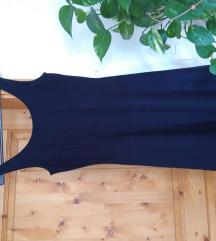 Temno modra obleka S/M (ni prekratka) ☀️