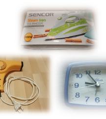 DOM - elektronika ■7€/kos ■likalnik, fen, budilka