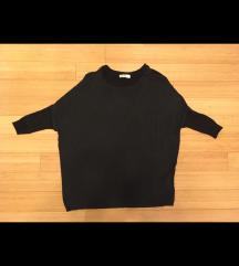 Zara črna majica/tunika M