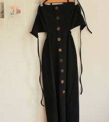 Poletna črna obleka