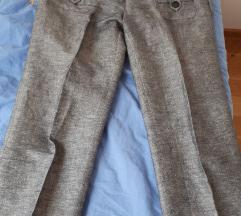 3/4 lanene hlače Xs ali S  NOVE
