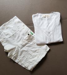 Benetton kratke hlače & Zara jopica, novo!