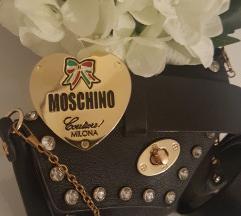 Moschino usnjen pas+torbica gratis
