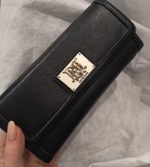 Love moschino črna denarnica