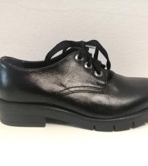 Usnjeni čevlji Batta nova