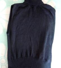 Črn puli brez rokavov