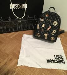 Love Moschino črn nahrbtnik