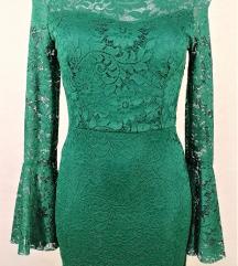 Obleka Zelena