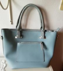 Svetlo modra torba