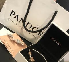 Rose Gold Pandora zapestnica