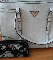 Guess torba in Guess denarnica znižanoo