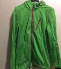 Softshel zelena jakna