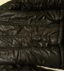 črna topla bunda št.S