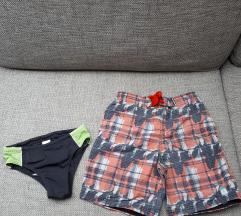 Kopalke kopalne hlače  8- 10 let 128