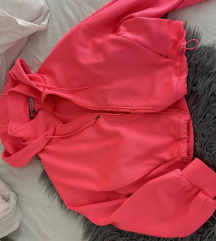 Neon pink jakna