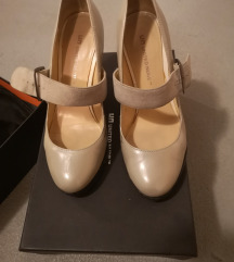 United nude stealth mary jane beige patent leather