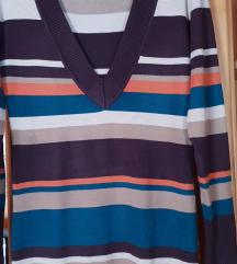 Pulover-tunika,prijetno svilnato mehak