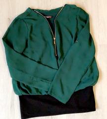 Elegantna zelena srajca